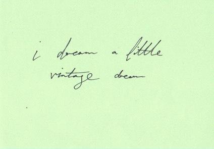 emma deee dreaming vintage