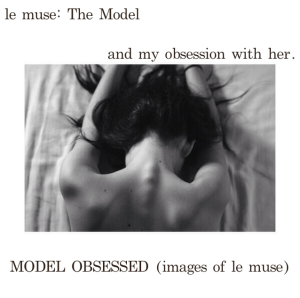 le muse: MODEL OBSESSION